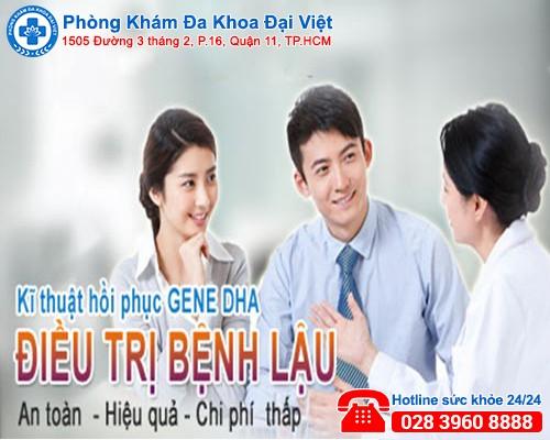 Điều trị lậu an toàn, hiệu quả tại Phòng Khám Đa Khoa Đại Việt.
