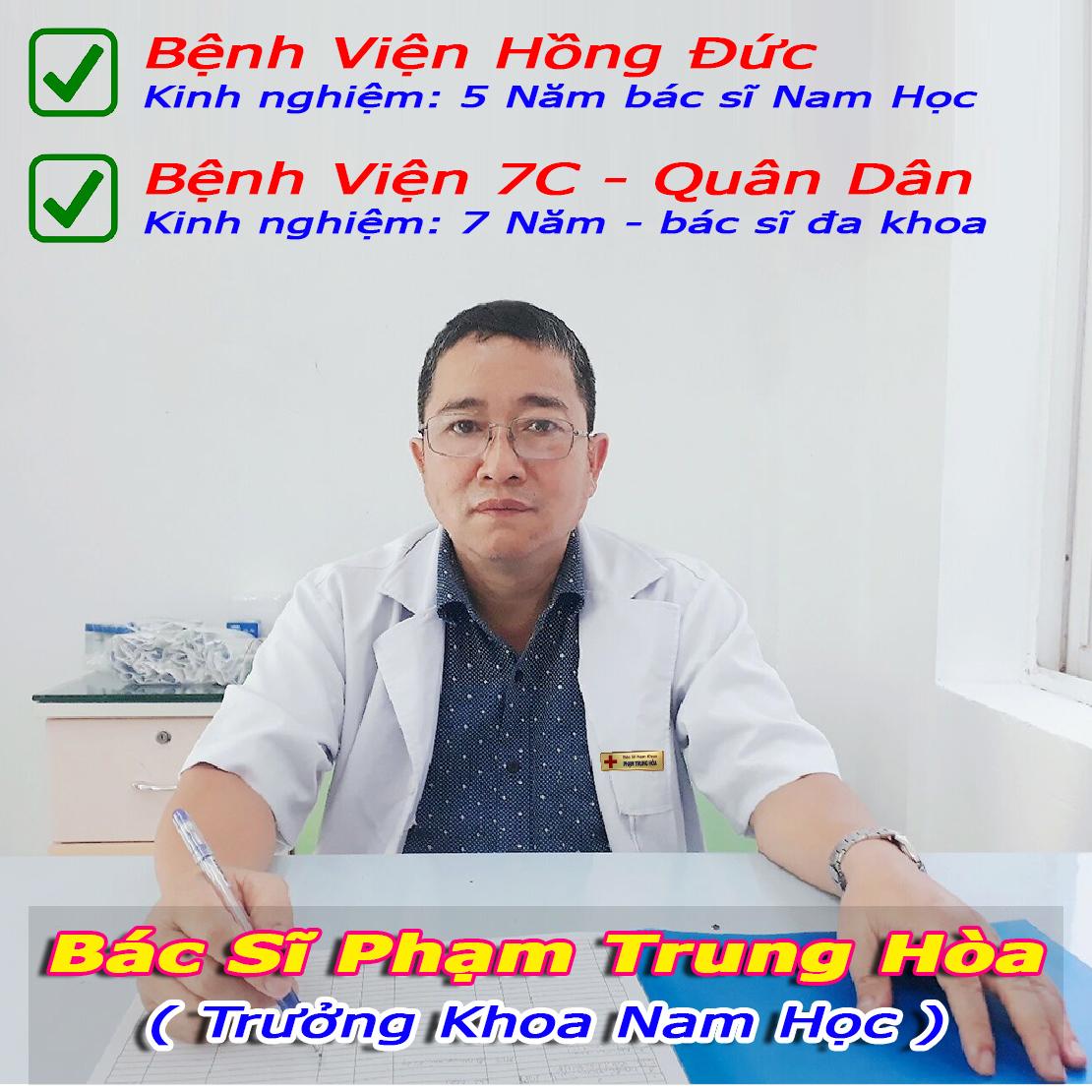 Bác Sĩ Phạm Trung Hòa