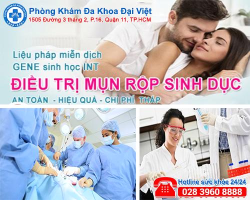 Bệnh mụn rộp sinh dục - nguyên nhân và triệu chứng - Đa Khoa Đại Việt