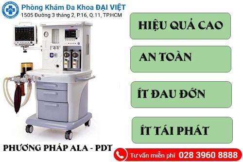 Phương pháp ALA - PDT