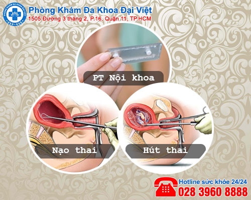 phá thai an toàn - Phòng Khám Đa Khoa Đại Việt
