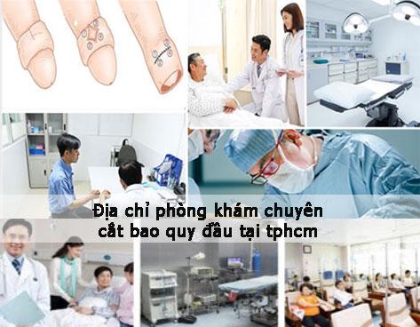Cắt bao quy đầu tại TPHCM: tên phòng khám, bệnh viện uy tín nhất