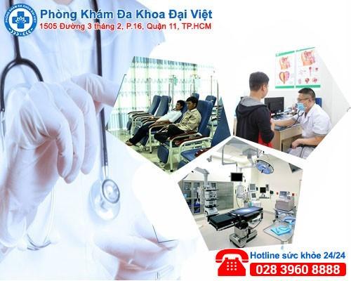 Chữa trị yếu sinh lý hiệu quả tại Phòng Khám Đa Khoa Đại Việt