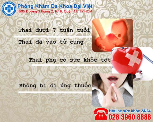Cách phá thai bằng thuốc an toàn - Phòng Khám Đa Khoa Đại Việt