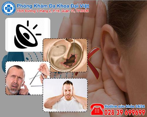 Ù tai khiến nhiều người gặp bất ổn về sức khỏe.