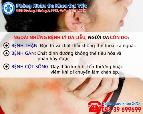 Đừng xem thường triệu chứng ngứa da