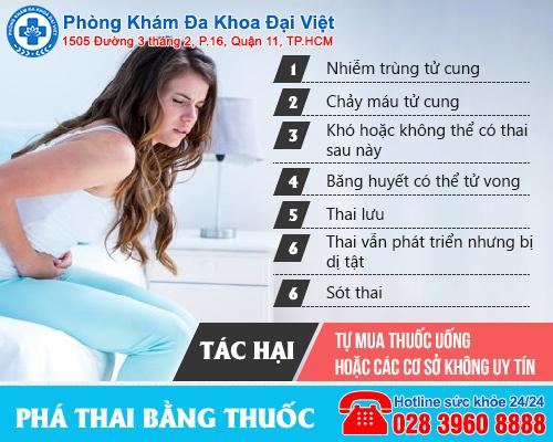 Những phương pháp phá thai an toàn hiện nay - Đa Khoa Đại Việt