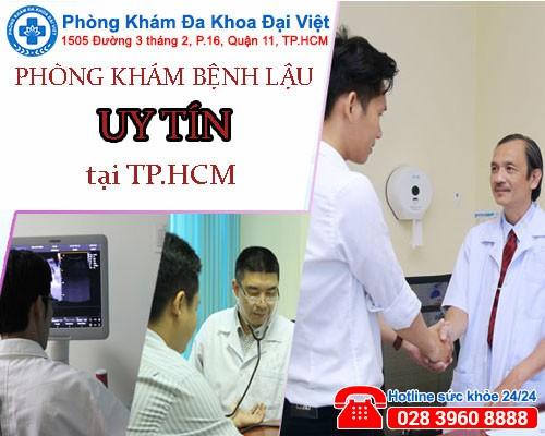 Phòng khám bệnh lậu uy tín tại TP.HCM-phòng khám đa khoa đại việt