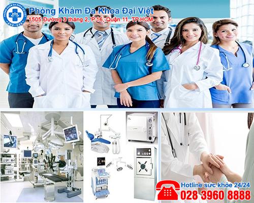 Phòng khám phá thai an toàn ở TPHCM - Đa Khoa Đại Việt