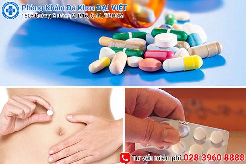điều trị nấm âm đạo