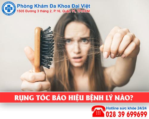 Rụng tóc báo hiệu bệnh gì?