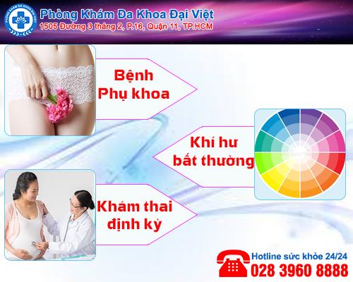 khám phụ khoa - Phòng Khám Đa Khoa Đại Việt