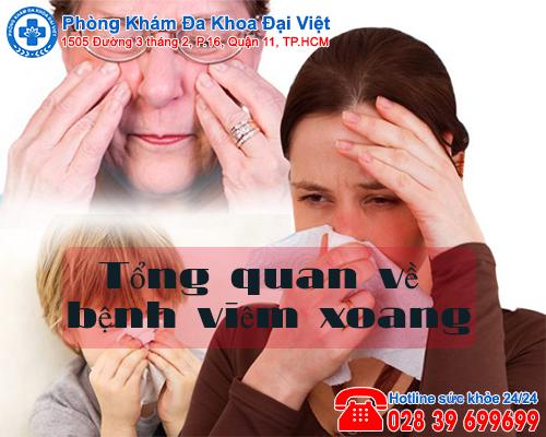 Tổng quan về bệnh viêm xoang - Phòng Khám Đại Việt