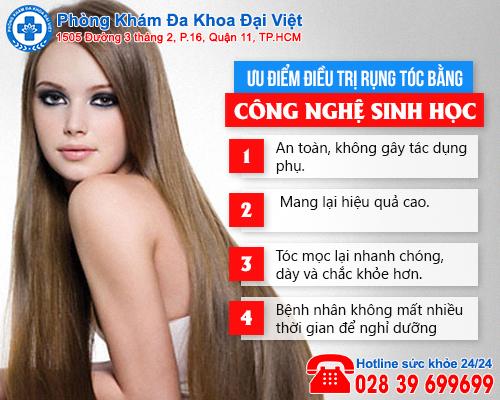 Cách điều trị chứng rụng tóc hiệu quả